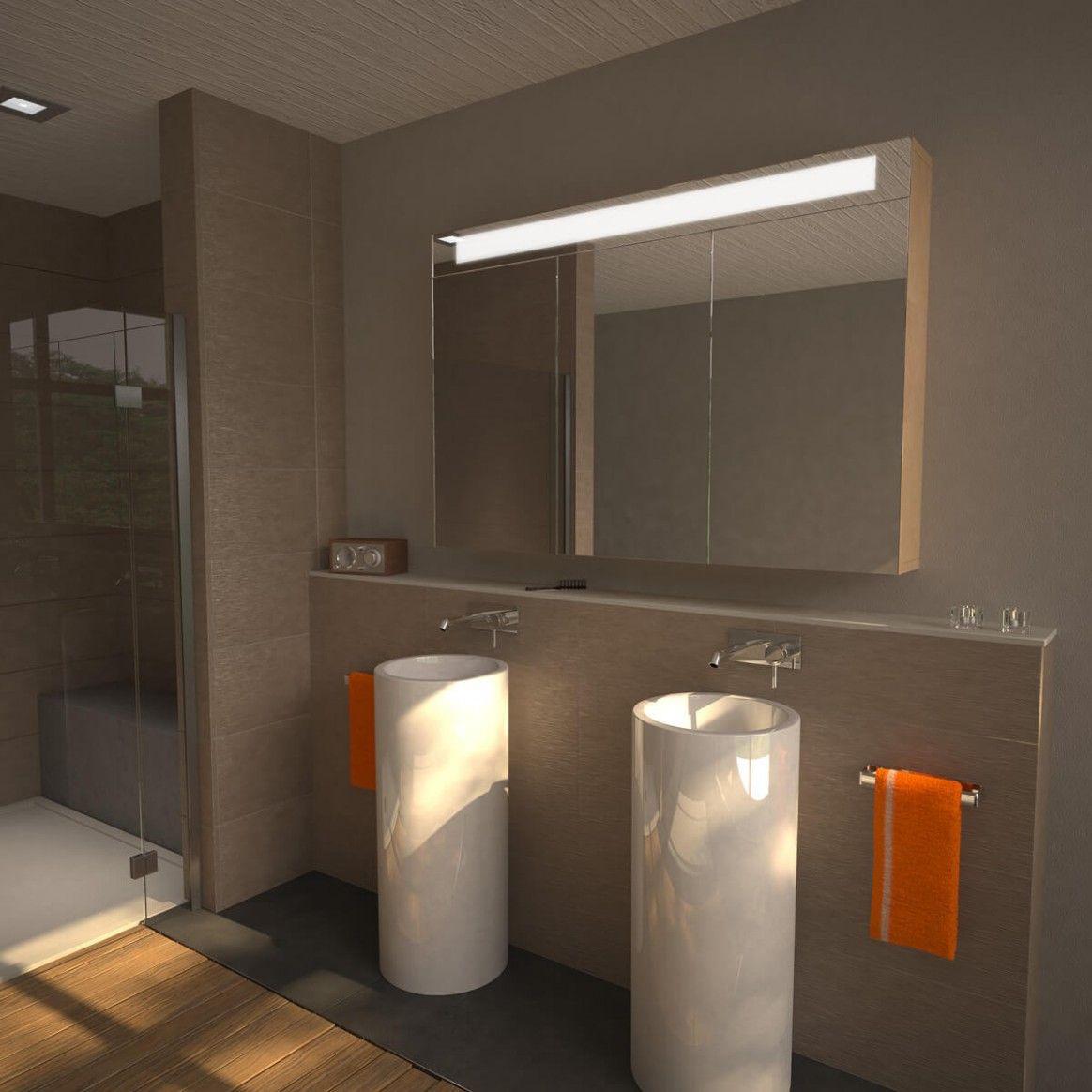 Badezimmer Spiegelschrank Design In 2020 Badezimmer Spiegelschrank Spiegelschrank Badezimmereinrichtung