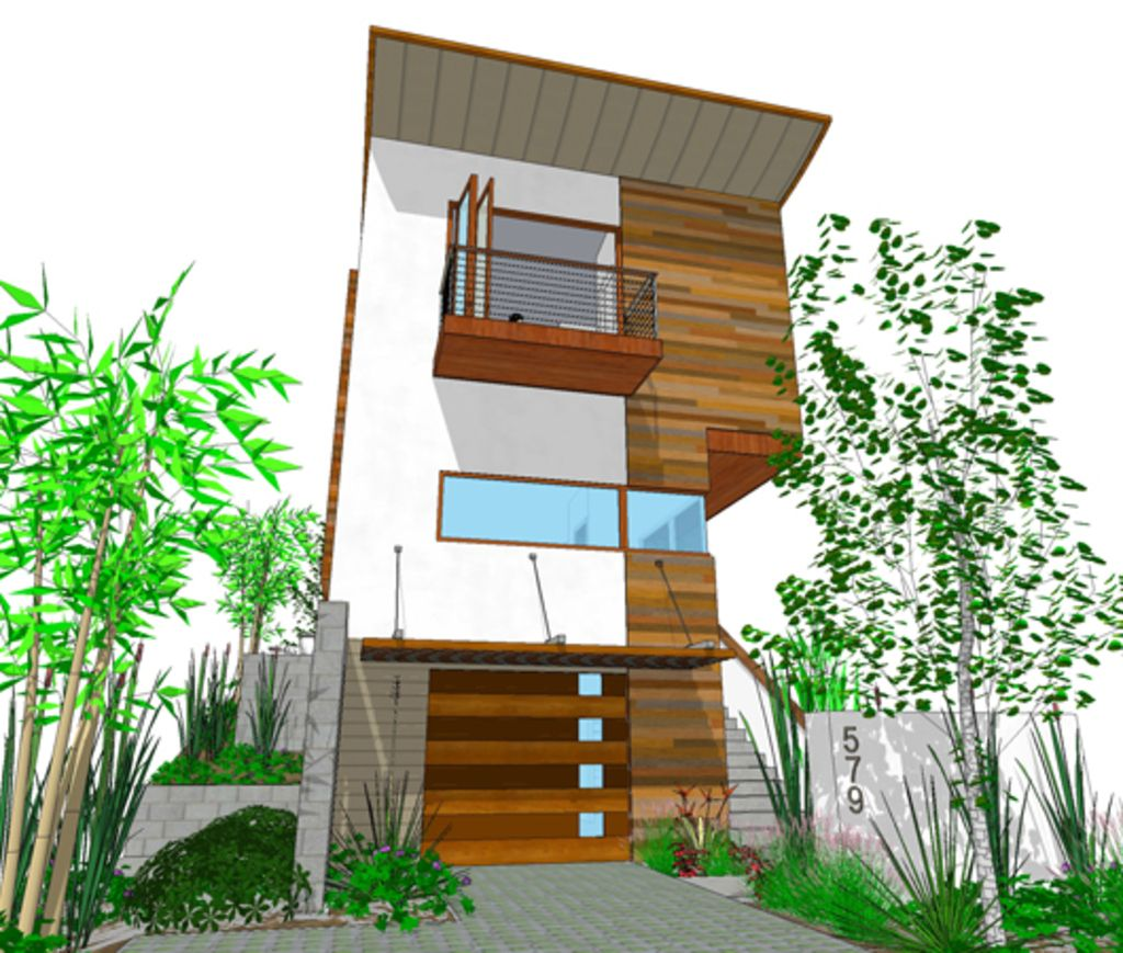 Modern Style House Plan 3 Beds 3 Baths 1505 Sq/Ft Plan