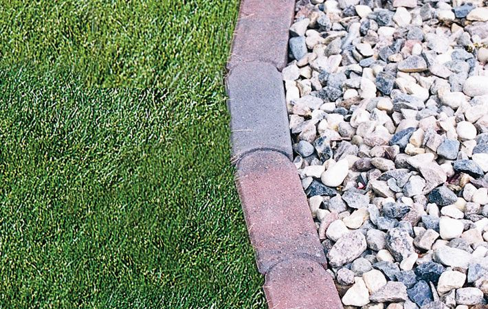 Interlocking Brick Edging Ideas Complete Your Garden Or Edging With The Classic Charm Of Bullet Edgers Landscape Edging Landscaping Supplies Paving Stones