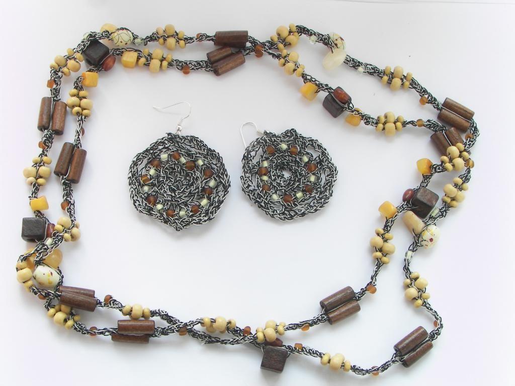 Naszyjnik Recznie Robiony Na Szydelku 3753054011 Oficjalne Archiwum Allegro Beaded Bracelets Jewelry Bracelets