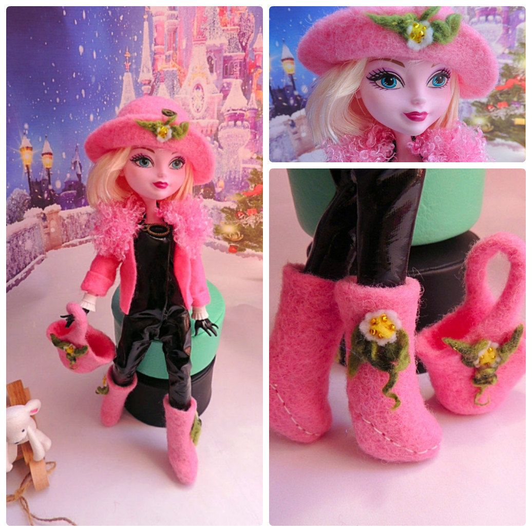 Romantic and daring outfit for autumn (5 in set) for dolls Ever After High and…