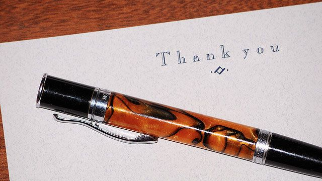 Should You Send a Handwritten or Email Thank You Note