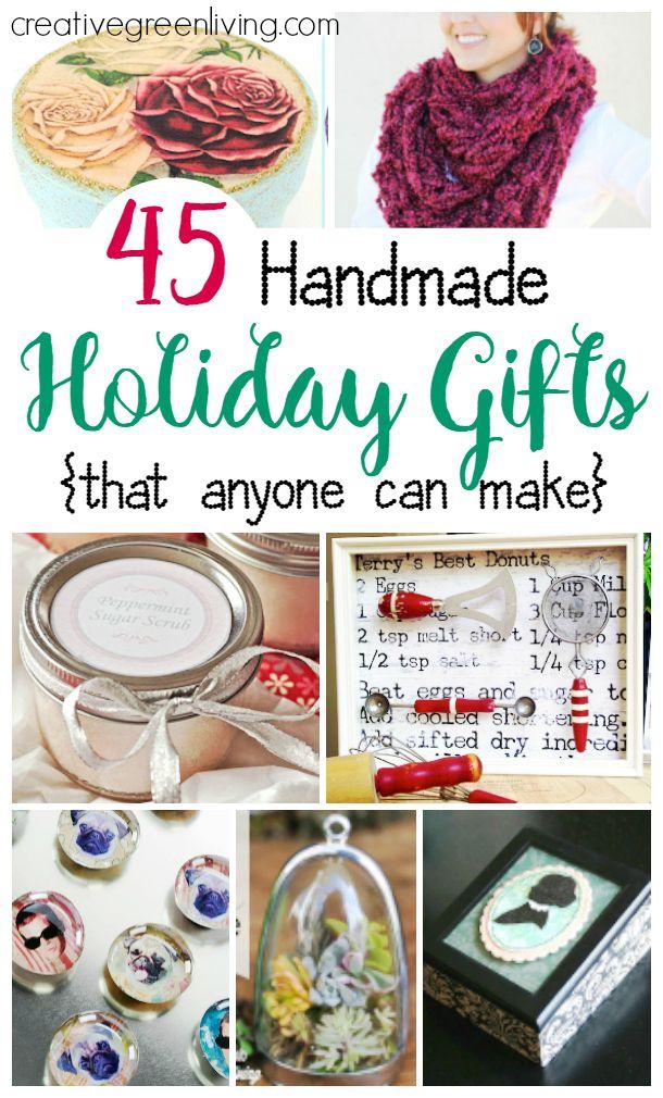 45 Handmade Christmas Presents for Mom - Gifts Anyone Can Make
