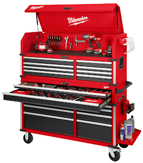 Tool Review Zone Milwaukee Tool To Release New Work Bench And Stora Milwaukee Tools Tool Chest Tool Storage