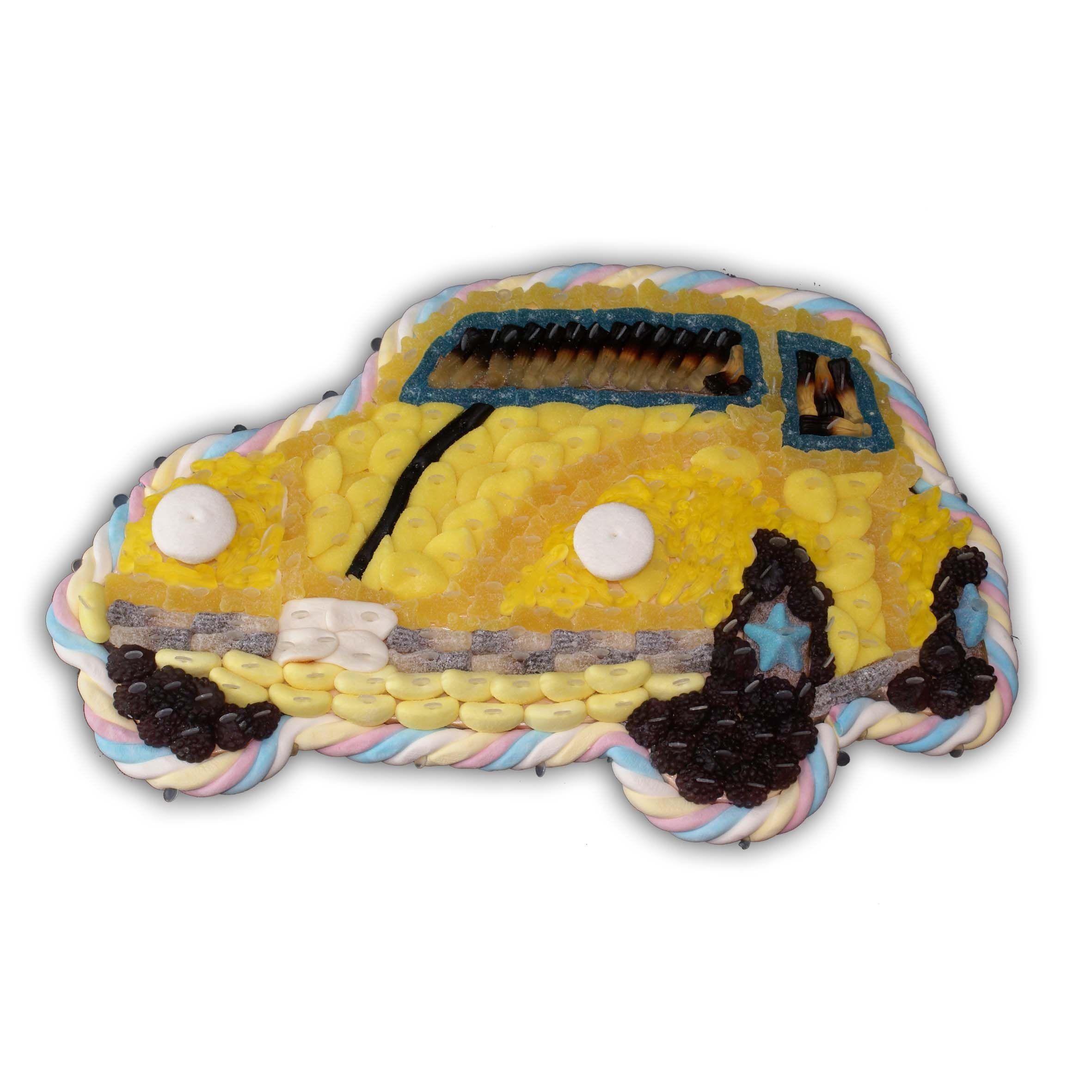 voiture coccinelle en bonbon