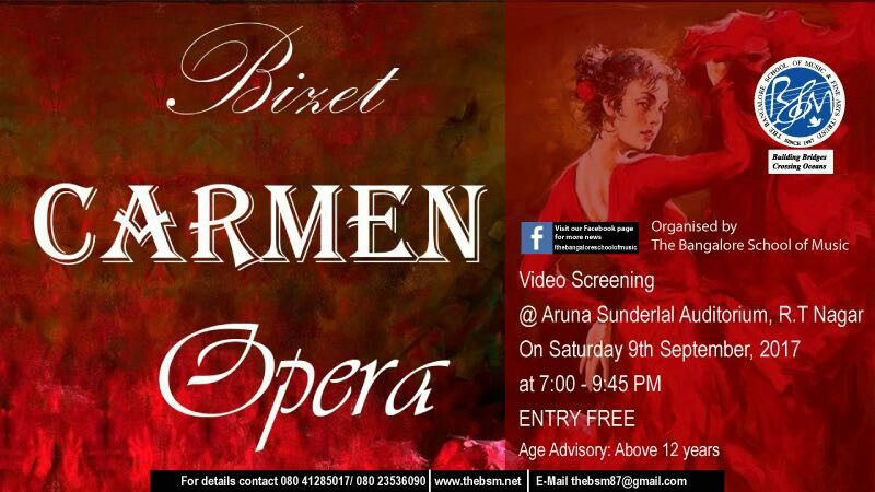 Do not miss this wonderful opera this Saturday  ONLY IN