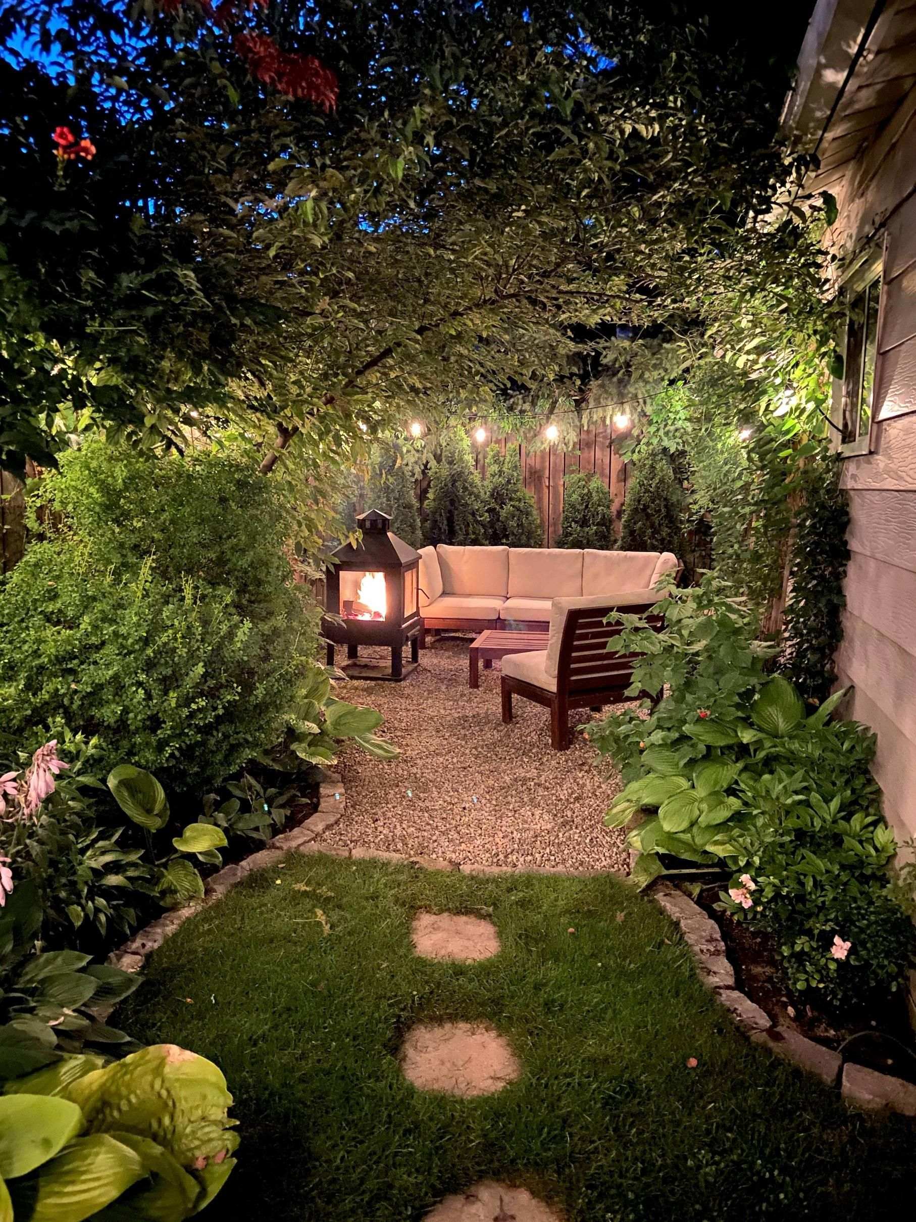 Our Backyard Urban Oasis This Was Just A Pile Of Dirt When We Moved Here 2 Years Ago Imgur In 2021 Backyard Backyard Landscaping Urban Backyard Backyard oasis ideas this old house