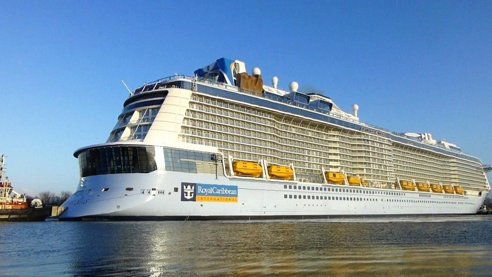 Royal Caribbean Ship Sails Straight Into Storm Again Cruise - Anthem of the seas itinerary