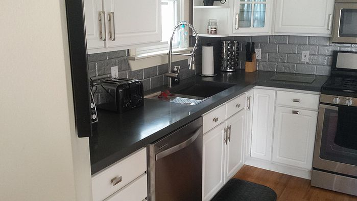 Grey Concrete Countertops Lansing Michigan