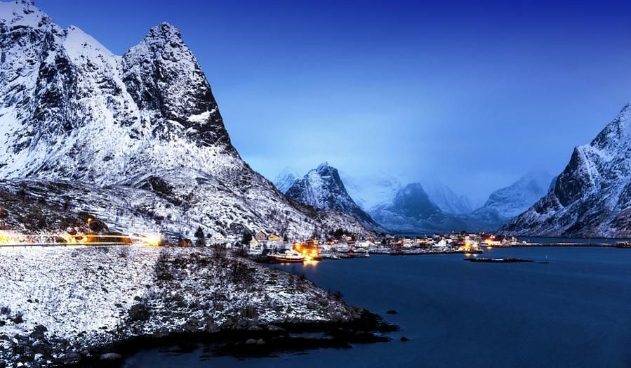 Reine At Noon by andresen1 #photo