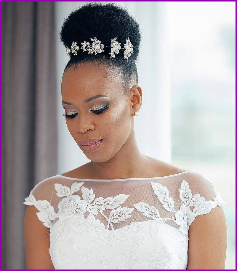 Coiffure Mariage Cheveux Crepus Naturel De Coiffure Mariage Cheveux Afro La Source Black Wedding Hairstyles Afro Wedding Hairstyles African Wedding Hairstyles