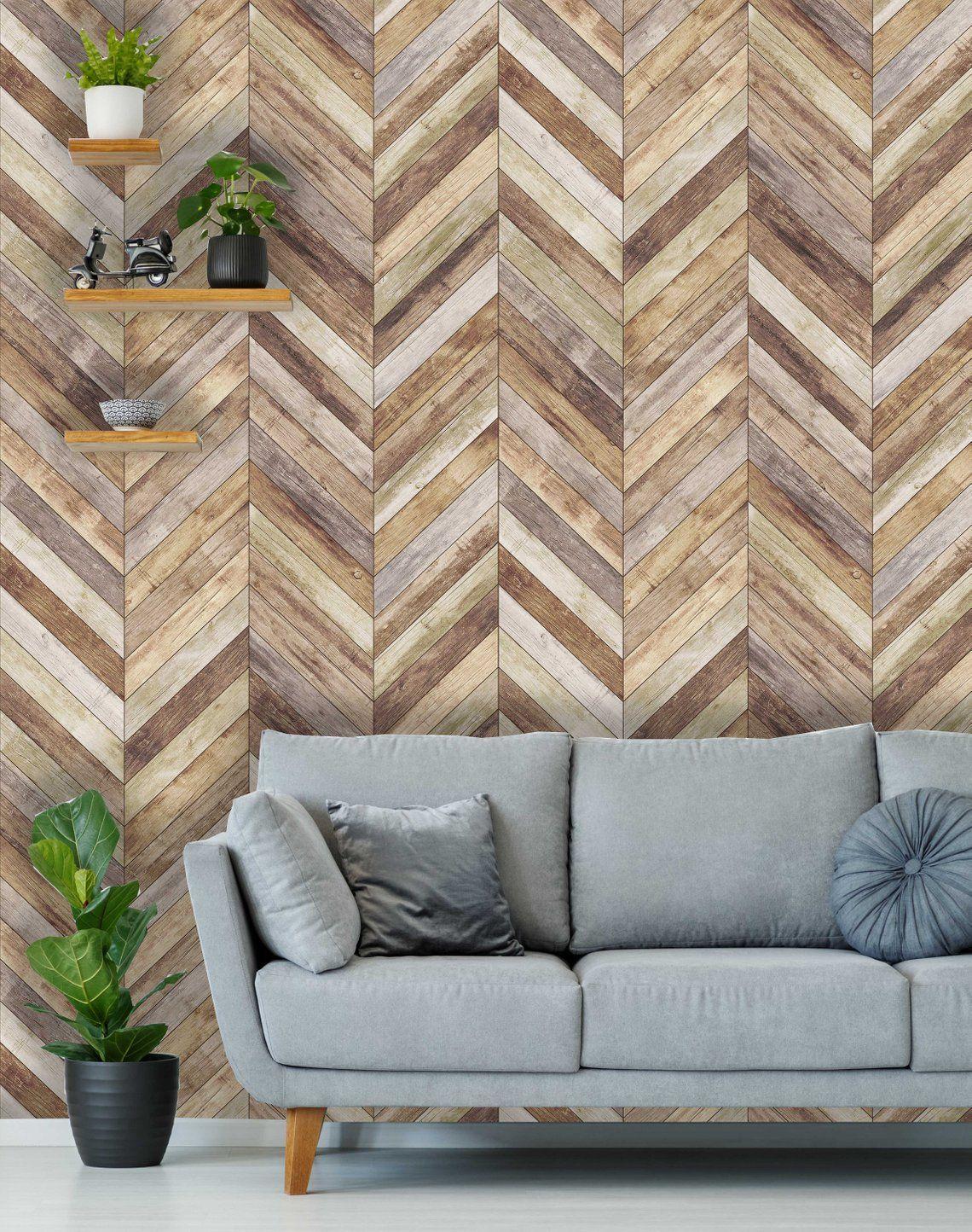 Removable Peel 'n Stick Wallpaper, SelfAdhesive Wall