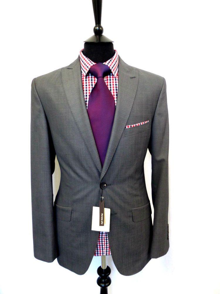Men/'s Centaur Big /& Tall Black Regular Fit Suit VB152