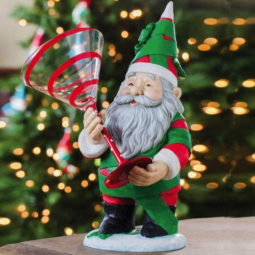 Present Gnome Wine Glass Holder  To view further for this item