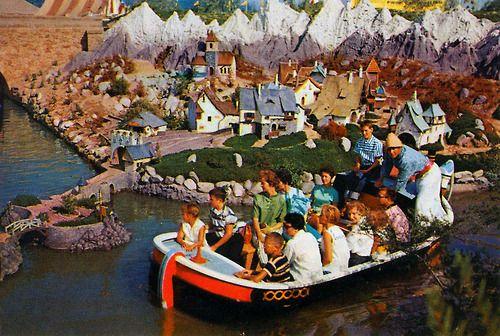 Fantasyland from the 1957 Disneyland Guide.
