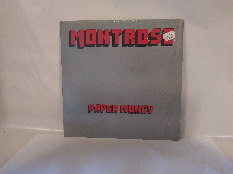 Montrose Paper Money Sammy Hagar Nm Vinyl Record In Shrink In 2020 Vinyl Records Montrose Paper Money