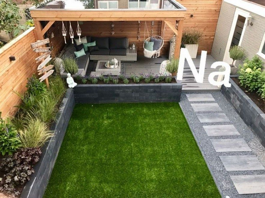 52 Backyard Makeovers Ideas Become A Gathering Place For Families 8 Fieltro Net Outdoor Gardens Design Back Garden Design Small Backyard Landscaping