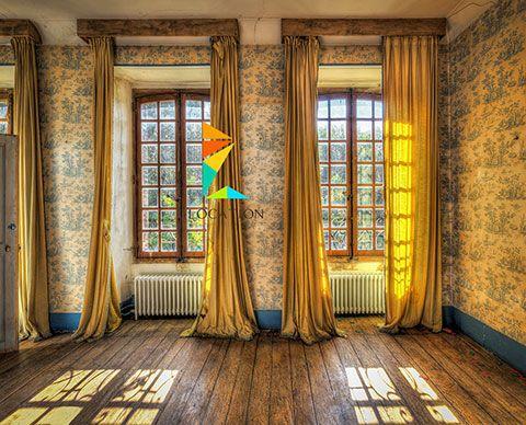 صور ستائر تصميم ستاير ديكور ستائر مودرن و كلاسيك 2017 2018 Yellow Curtains Living Room Yellow Living Room Brown Rooms