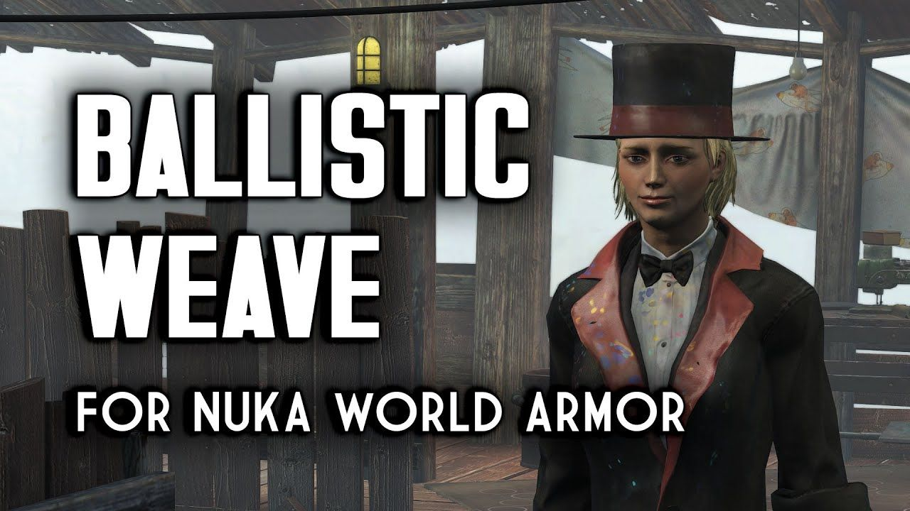Ballistic Weave and the Nuka World Armors That Can Use It