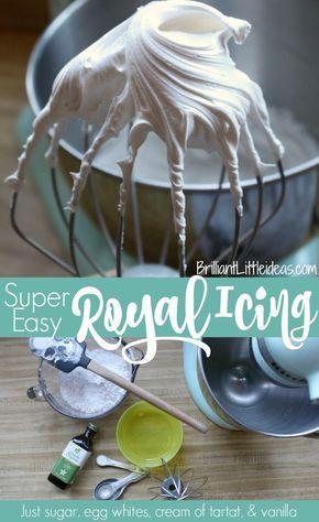 Super Easy Royal Icing | Brilliant Little Ideas