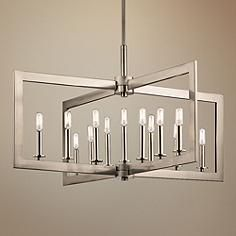 Kichler cullen 38 34w pewter 13 light linear chandelier a sands kichler cullen 38 34w pewter 13 light linear chandelier aloadofball Image collections