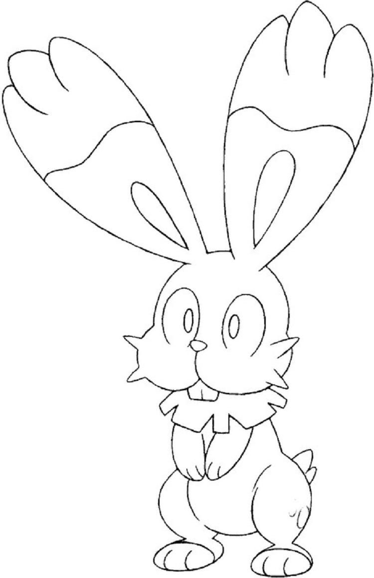 Pokemon Coloring Pages Bunnelby Pokemon Coloring Pages