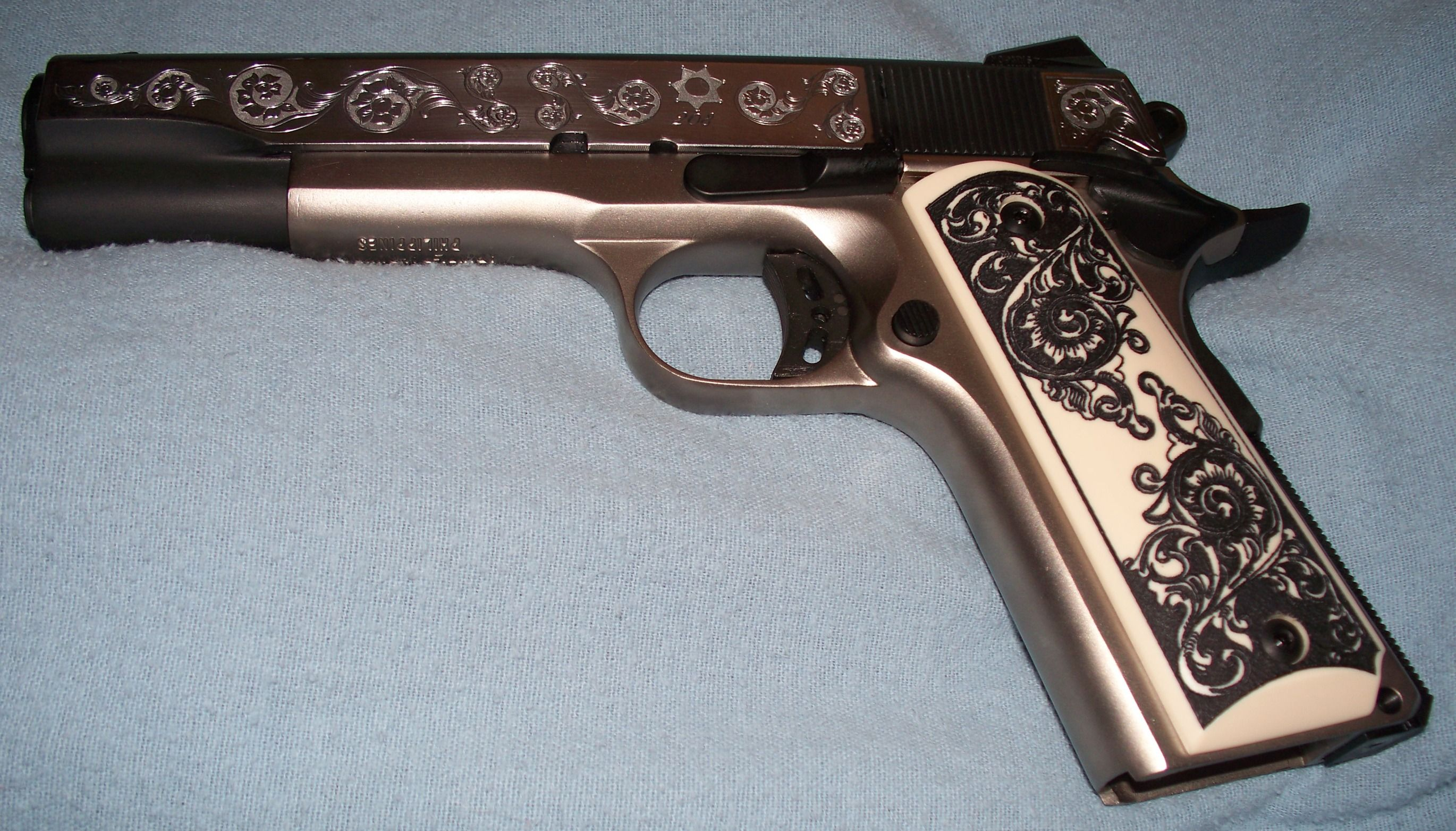 Filipino 1911... This is custom engraved, and absolutely beautiful ...