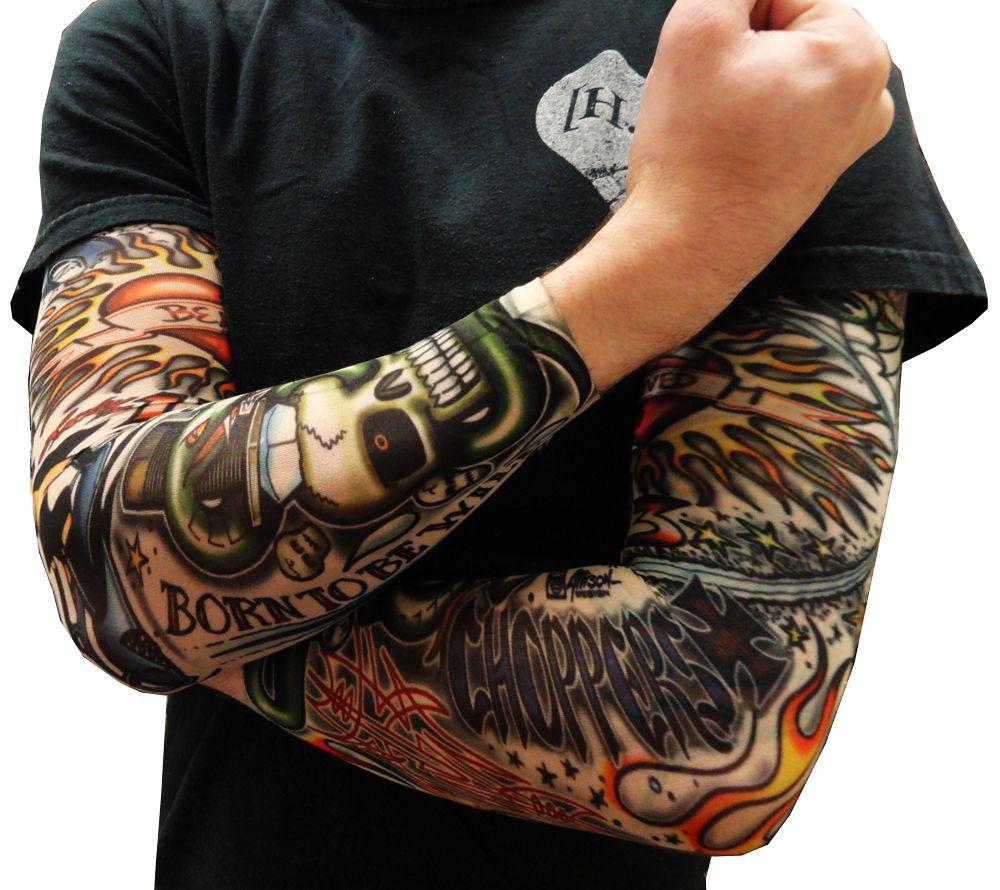 Tattoo Sleeves - Vintage Rockabilly Fake Tattoo Sleeves ...