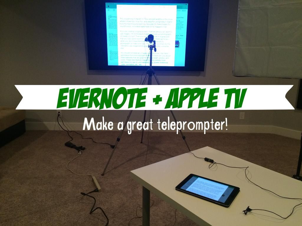 Tony Vincent on Evernote, Educational technology, Education