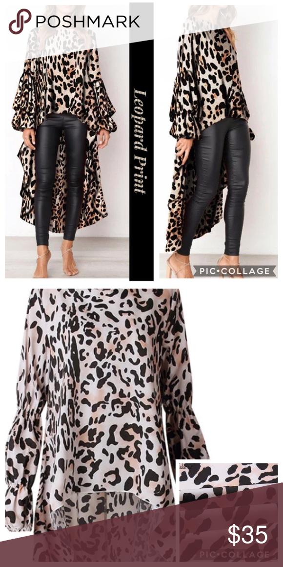 leopard high low top