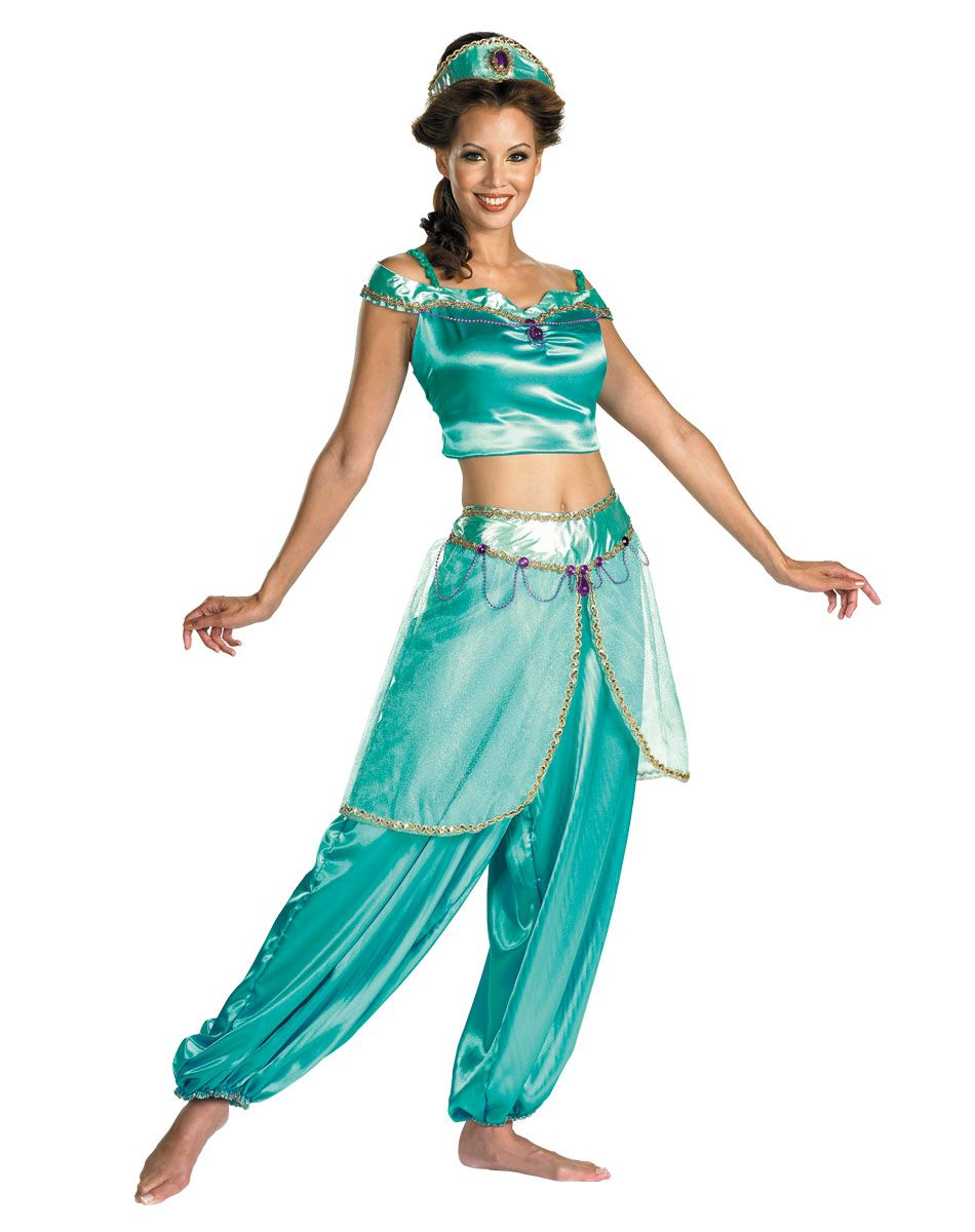 disney princess jasmine deluxe adult womens costume. Black Bedroom Furniture Sets. Home Design Ideas