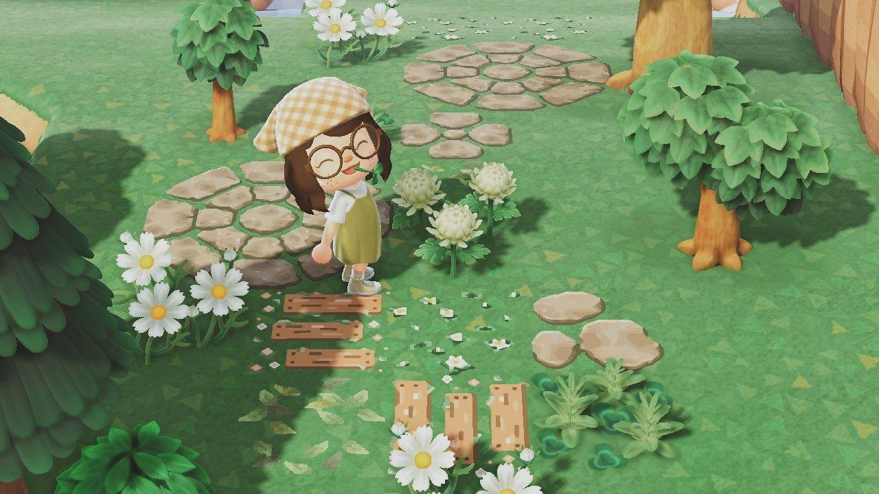 17++ Flower path animal crossing ideas