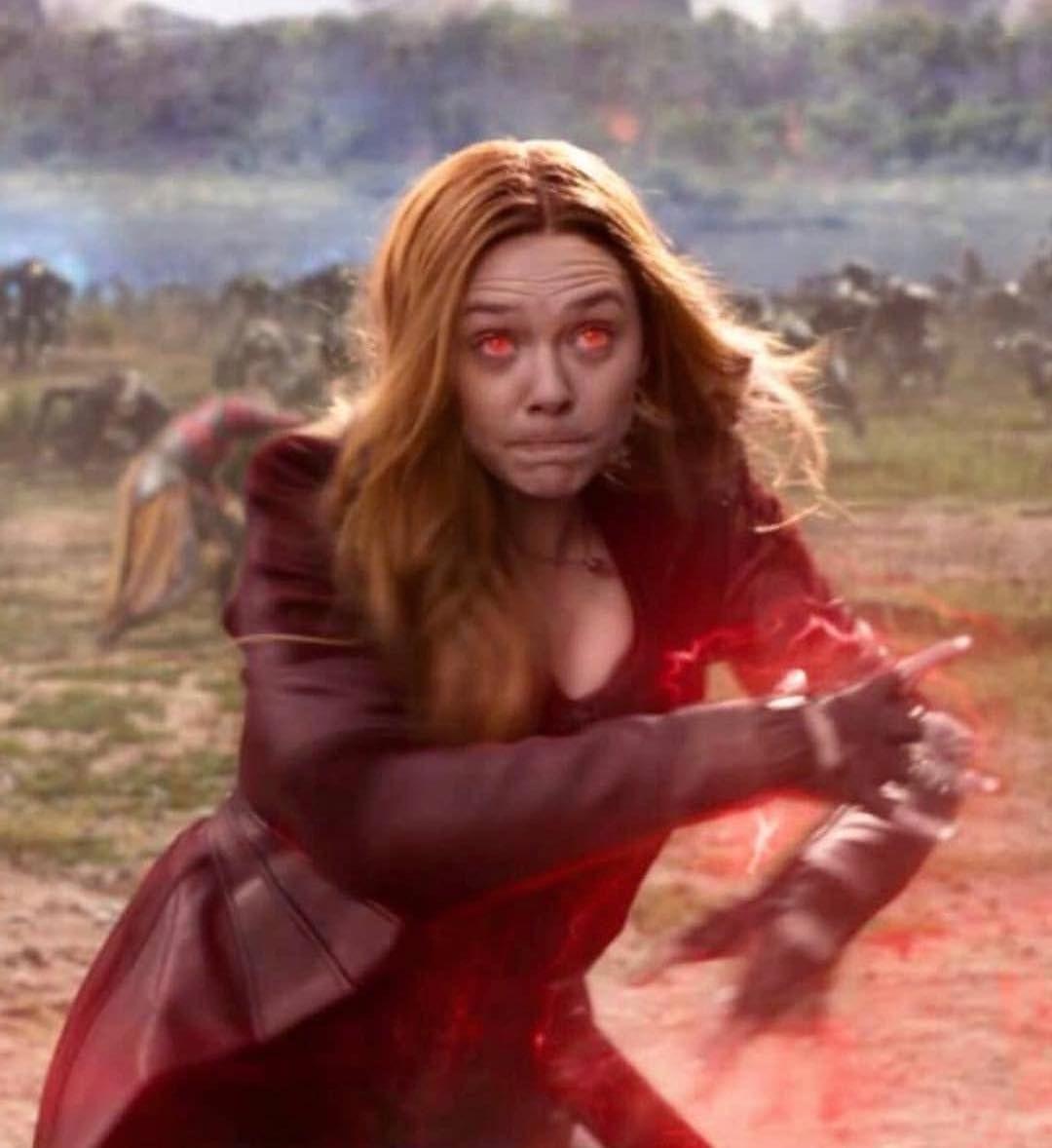 Red Eyes Elizabetholsen Lizzieolsen Scarletwitch Wandamaximoff Avengers Marvel Marvelgirls Scarlet Witch Scarlet Witch Avengers Scarlet Witch Marvel