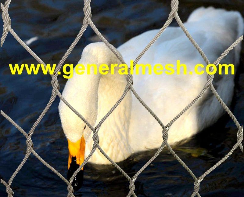 crane cage netting, bird netting, bird aviary netting
