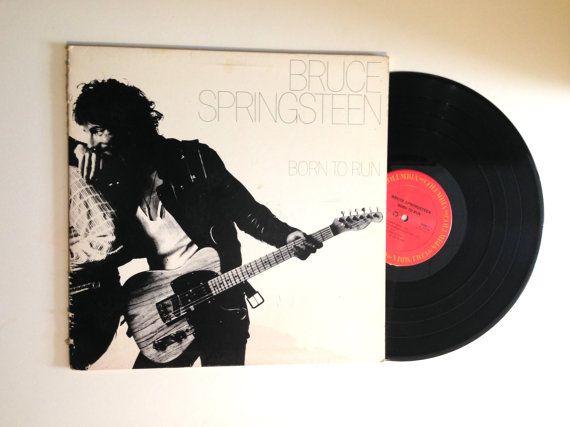Bruce Springsteen Born To Run Vinyl Record 1977 Night Thunder Road Backstreets Meeting Across The River Lp Album Bruce Springsteen Born To Run Vinyl Records