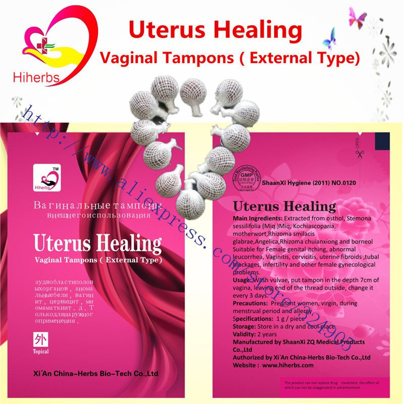 12pcs Beautiful Life Tampon Clean Point Tampon Vaginal Cleansing