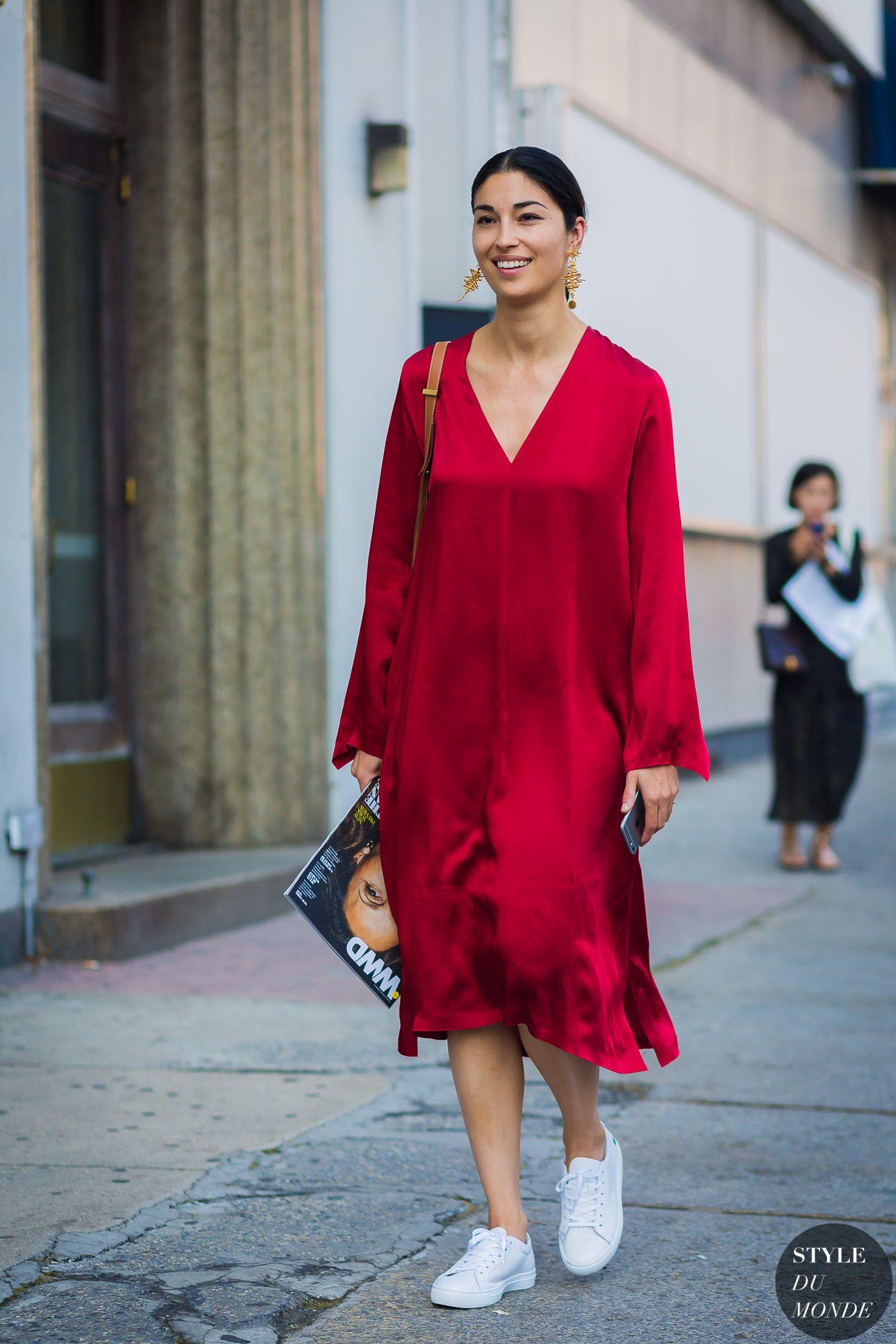 New York SS 2017 Street Style: Caroline Issa