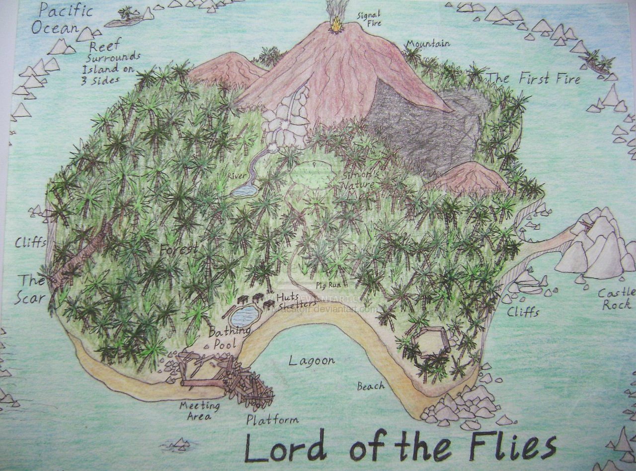 lord of the flies island by kracatorr com on  lord of the flies island by kracatorr com on