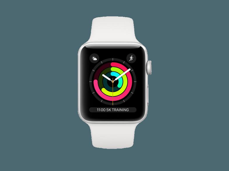 Mediamarkt Apple Office Smartphone Smartphones Telefone Top Apple Watch Series 3 38 Mm Smartwatch Aluminium Kunststoff 140210 Mm Ar Smartwatch