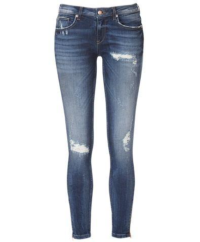 91aa05d7d1df Kristen zip jeans 49.95€. www.ginatricot.com   fashion