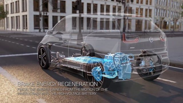 To experience the driving pleasure and to clearly communicate the technology of the innovative BMW i3 Effekt-Etage produced a high-quality CGI animation for the BMW i model.