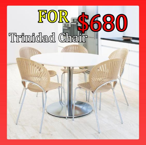 Trinidad Chair Trinidad is one of designe Nanna Ditzel's