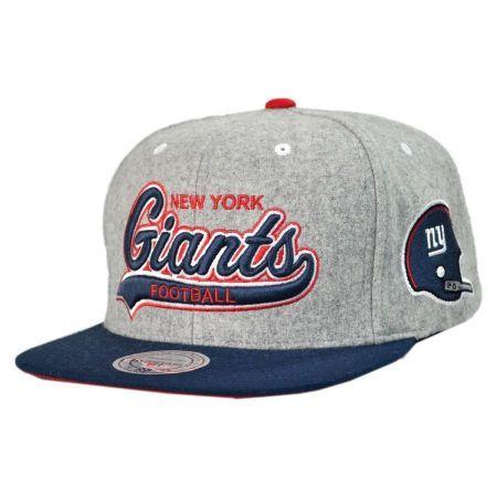 New York Giants NFL Heather Melton Strapback Baseball Cap available at   VillageHatShop 8f89903c630