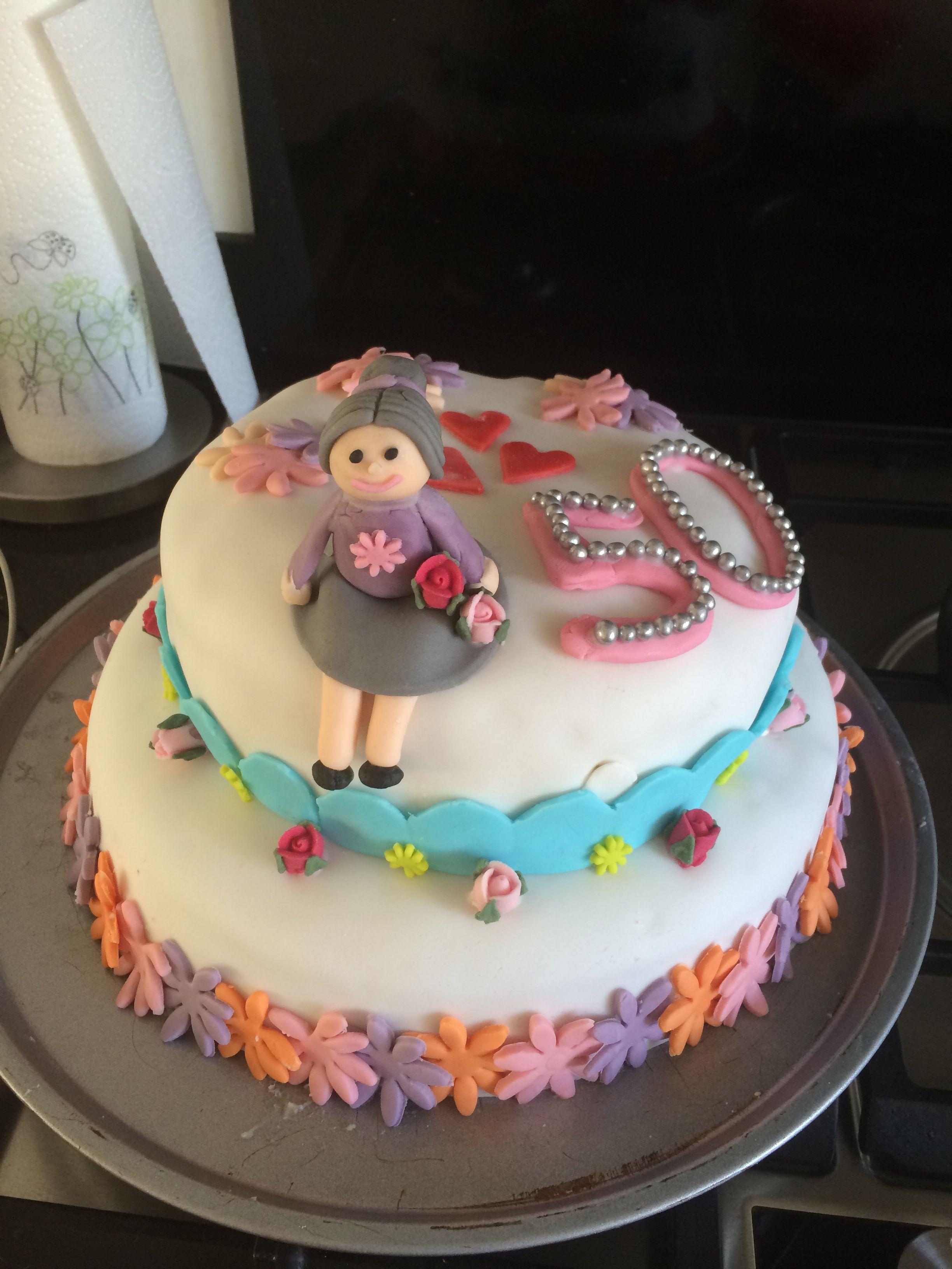 Sarah taart - 50 jaar