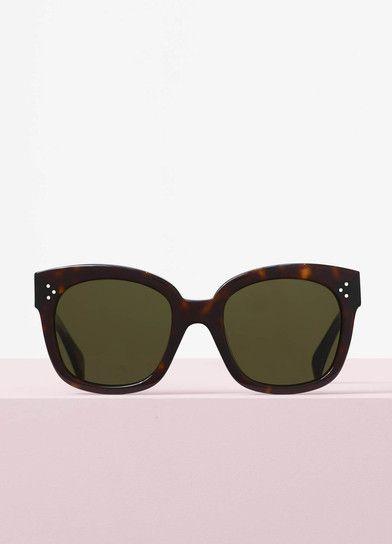 f5aca65c700 New Audrey Sunglasses in Acetate - Céline