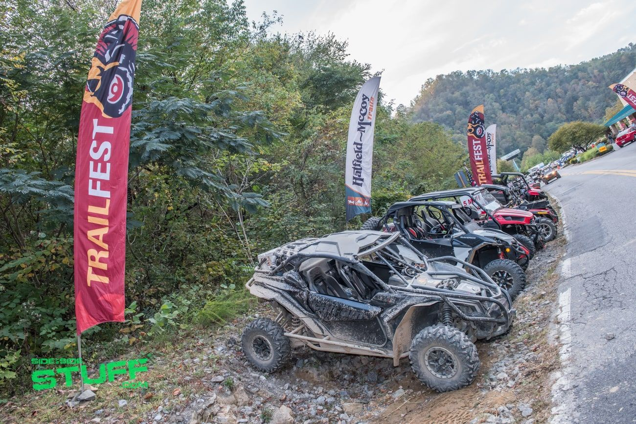 2017 National Trailfest At The Hatfield Mccoy Trails Tons Of Fun At West Virginia S Off Roading Mecca Side By Side Stuff West Virginia Hatfield Offroad