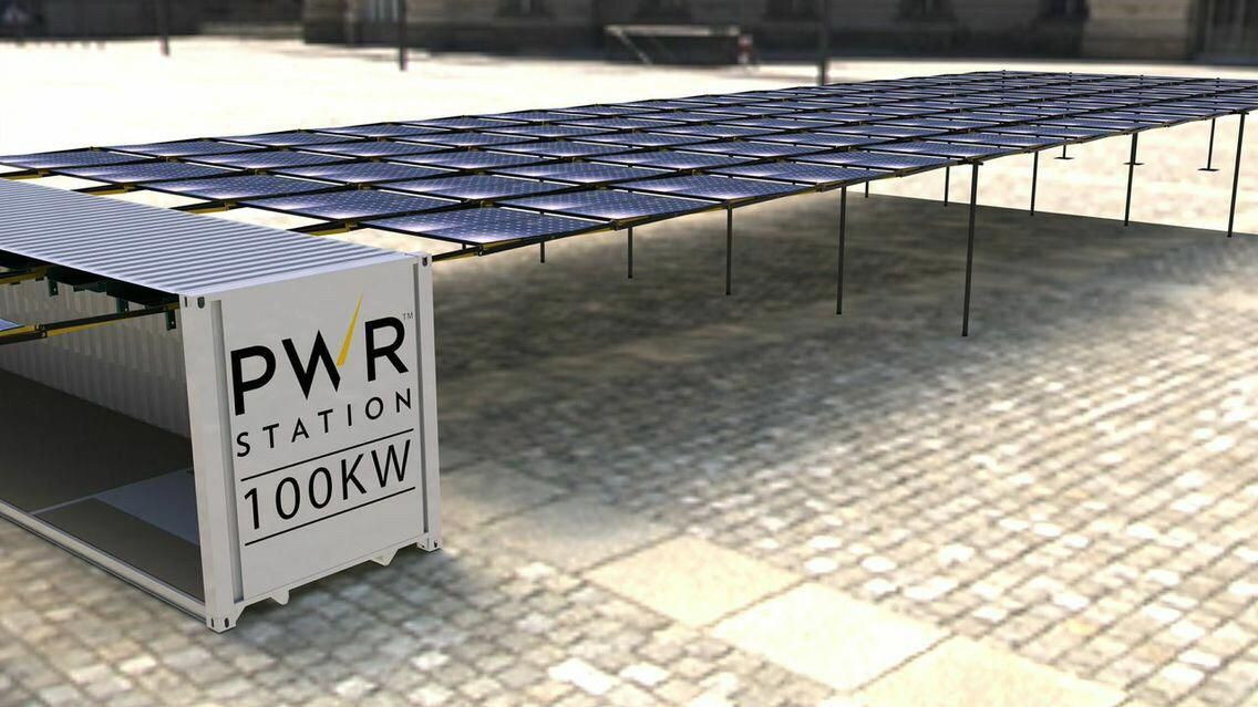 Pwrstation Genesis Engineered In Switzerland Pwrstations Are Unique Solar Genset Solutions For Residential A Solar Panels Renewable Solar Solar Energy Panels
