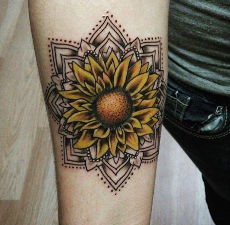 Pin by hannah corkum-nichols on love | Sunflower tattoos ...
