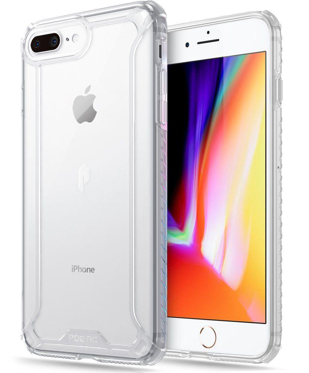 5ac8afba78 iPhone 7 Plus / iPhone 8 Plus Case, POETIC Affinity Series Premium Thin/No  Bulk/Clear/Dual material Protective Bumper Case for Apple iPhone 7 Plus  (2016) ...