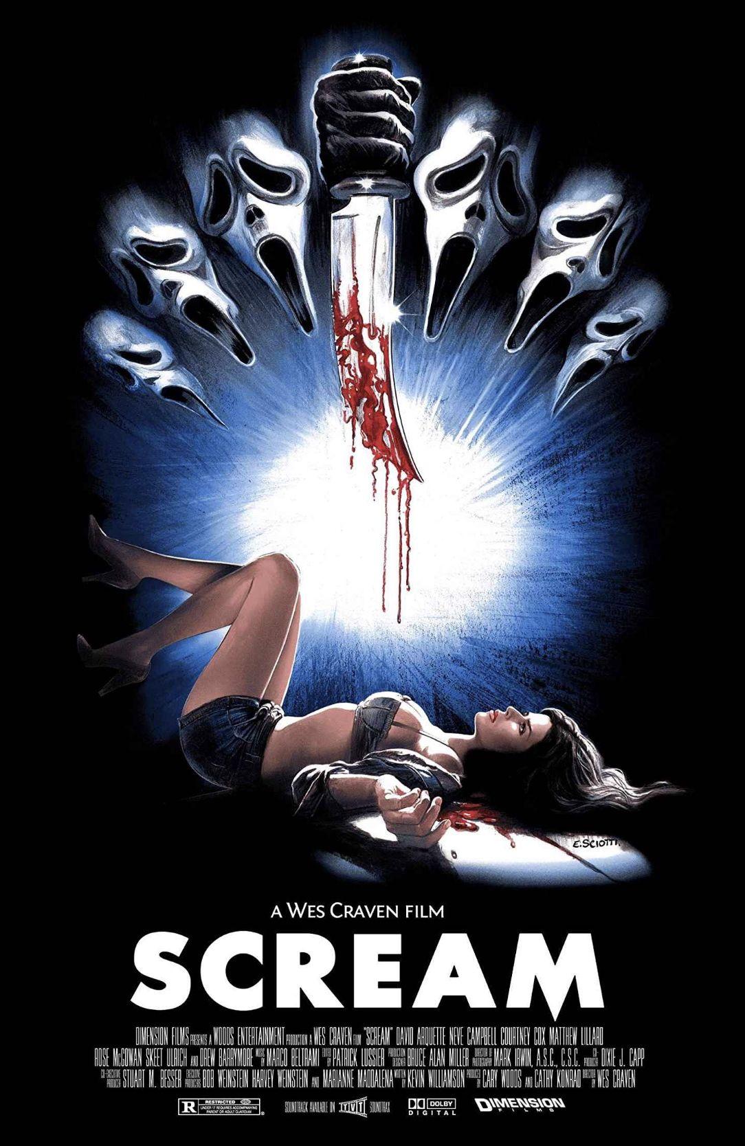 Scream Horror Movie Icons Horror Artwork Horror Posters